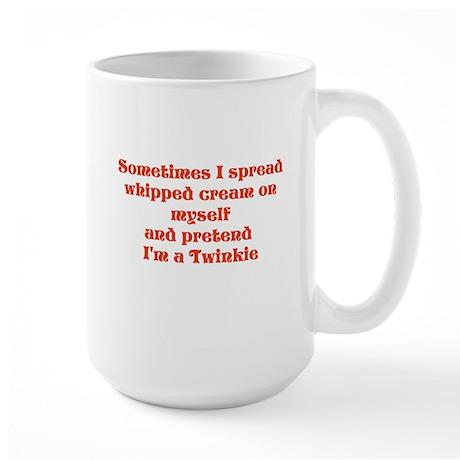 Sometimes I Large Mug