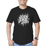 Join Fight Carcinoid Cancer Men's Fitted T-Shirt (