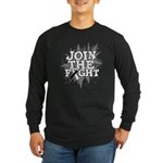 Join Fight Carcinoid Cancer Long Sleeve Dark T-Shi