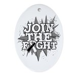 Join Fight Carcinoid Cancer Ornament (Oval)