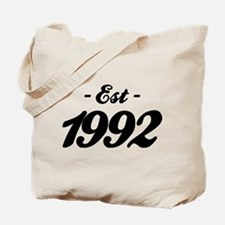 Established 1992 - Birthday Tote Bag