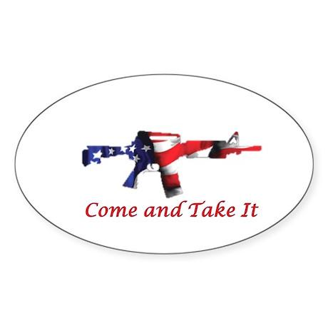 Come and Take It Sticker
