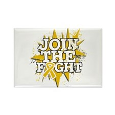 Join Fight Appendix Cancer Rectangle Magnet