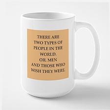 oil men Mug