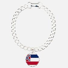 Flag of Mississippi Bracelet