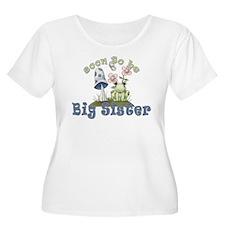 Soon To Be Big Sister Cute Frog T-Shirt