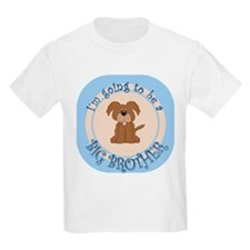 Puppy Going To Be Big Brother T-Shirt