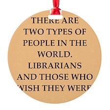 librarian Ornament