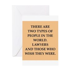 lawyer Greeting Card