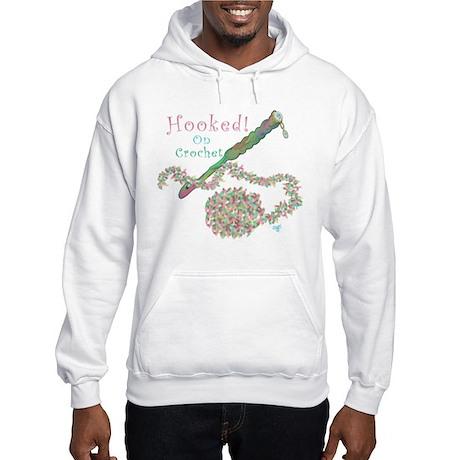 Hooked On Crochet Hooded Sweatshirt