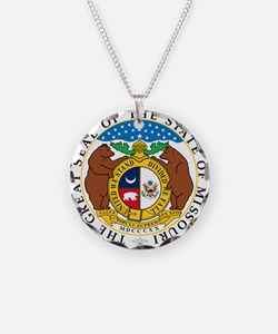 Great Seal of Missouri Necklace