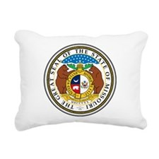 Great Seal of Missouri Rectangular Canvas Pillow