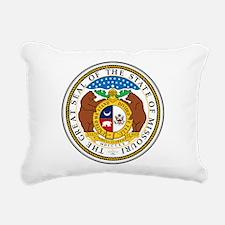 Great Seal of Missouri Rectangular Canvas Pillow