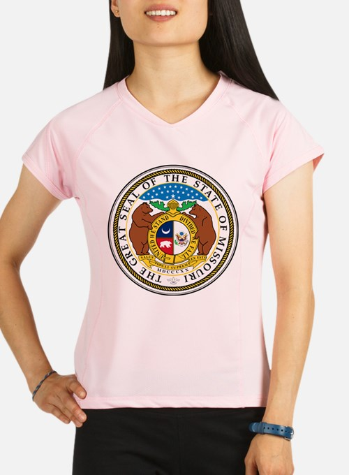Great Seal of Missouri Performance Dry T-Shirt