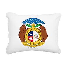 COA of Missouri Rectangular Canvas Pillow
