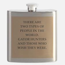 gator hunter Flask