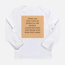 gator hunter Long Sleeve Infant T-Shirt