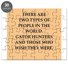gator hunter Puzzle