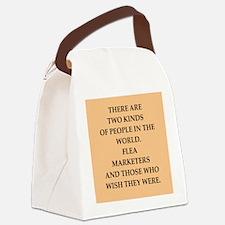 FLEA Canvas Lunch Bag