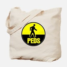 The peds or pedestrians Tote Bag