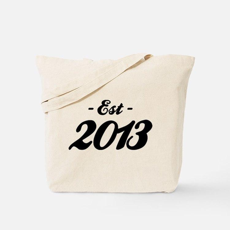 Established 2013 - Birthday Tote Bag