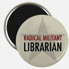 Radical Librarian Magnet