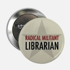 """Radical Librarian 2.25"""" Button (10 pack)"""