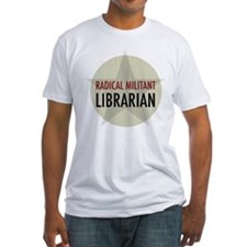 Radical Librarian Fitted T-Shirt