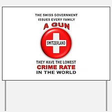 GUN FACTS Yard Sign