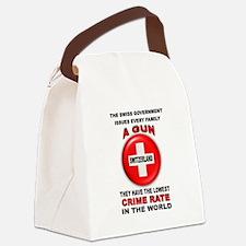 GUN FACTS Canvas Lunch Bag