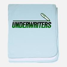 The underwriters baby blanket