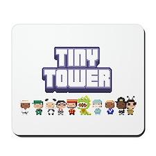 Tiny Tower Logo Mousepad