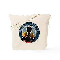 The Flaming Stamp Tote Bag