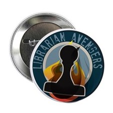 "The Flaming Stamp 2.25"" Button (10 pack)"
