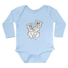 Teddy bears Long Sleeve Infant Bodysuit