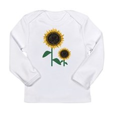 Sunflowers Long Sleeve Infant T-Shirt