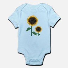 Sunflowers Infant Bodysuit