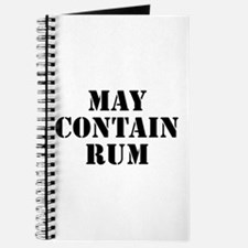 May Contain Rum Journal