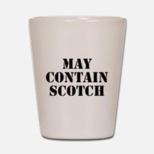 May Contain Scotch Shot Glass
