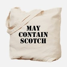 May Contain Scotch Tote Bag