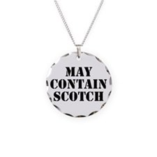 May Contain Scotch Necklace