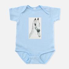 Arabian Spirit Horse Art Infant Bodysuit