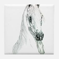 Arabian Spirit Horse Art Tile Coaster