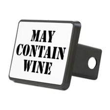 May Contain Wine Hitch Cover