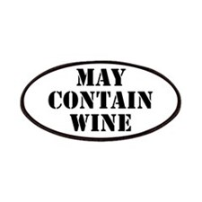May Contain Wine Patches