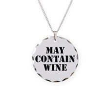 May Contain Wine Necklace