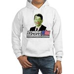 Zombie Reagan for President Hooded Sweatshirt
