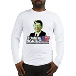 Zombie Reagan for President Long Sleeve T-Shirt