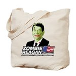 Zombie Reagan for President Tote Bag
