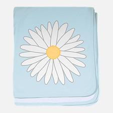 Flower. baby blanket